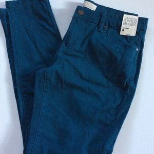 NWT Ladies Brushed cotton Skinny Jeans